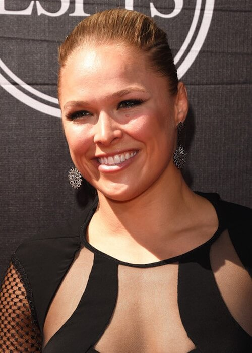 Mixed Martial Arts fighter Ronda Rousey appears at the 2015 ESPYS at Microsoft Theater on July 15, 2015 in Los Angeles, California
