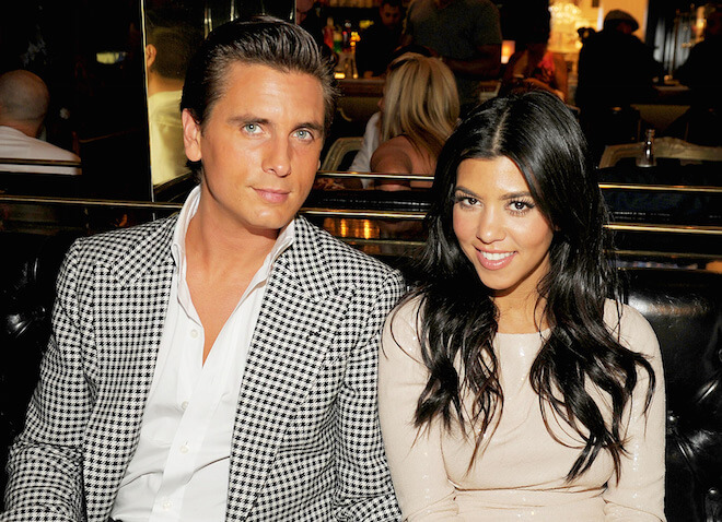 Scott Disick & Kourtney Kardashian