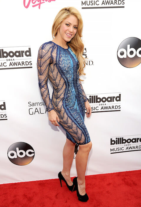 Shakira during Billboard Music Awards 2014