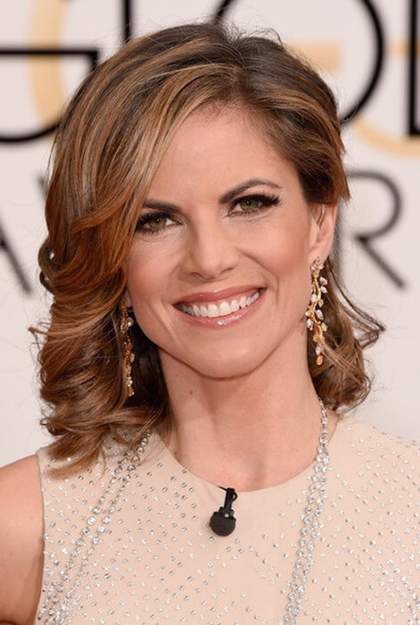 NBC's Today Show host Natalie Morales attends the 72nd Annual Golden Globe Awards at The Beverly Hilton Hotel on January 11, 2015 in Beverly Hills, California