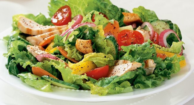 All salads are healthy