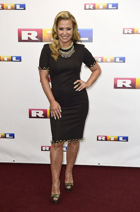 Anastacia attends the official Television program preview of German television production RTL on July 17, 2014 in Hamburg, Germany.
