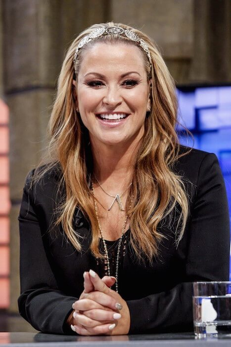 Anastacia visits 'El Hormiguero' on May 20, 2014