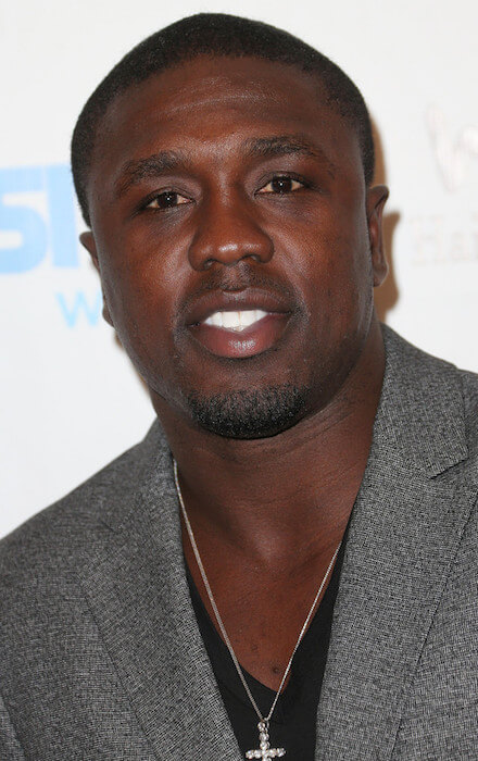Andre Berto during Generosity Water's 5th Annual Night of Generosity Benefit at the Beverly Hills Hotel on September 6, 2013 in Beverly Hills, California