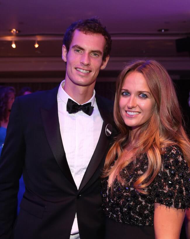 Andy Murray and Kim Sears Murray