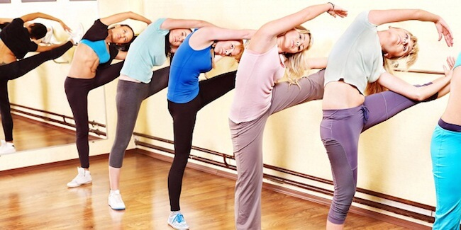 Barre Group Workout