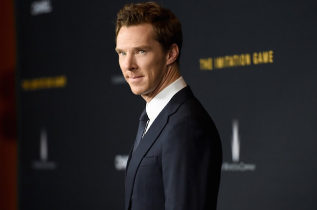 Benedict Cumberbatch at the premiere of The Imitation Game at DGA Theatre in New York in 2014