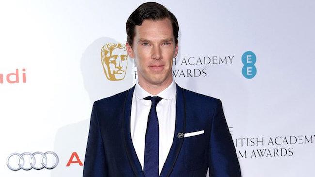 Benedict Cumberbatch attends the 2015 BAFTA Awards