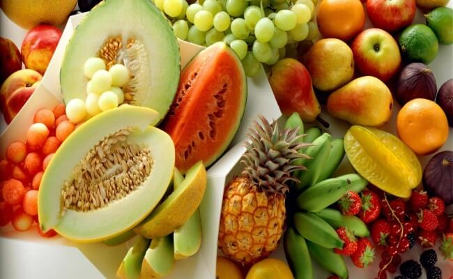 Better intake of fruits and vegetables