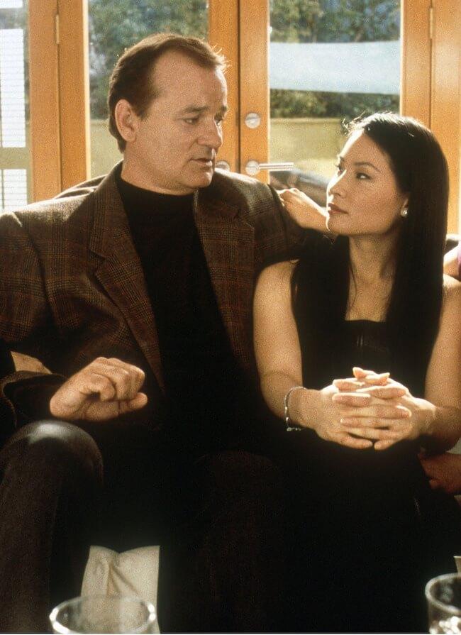 Bill Murray and Lucy Liu