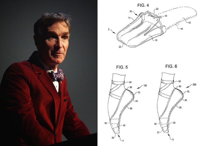 Bill Nye and his Ballet shoes