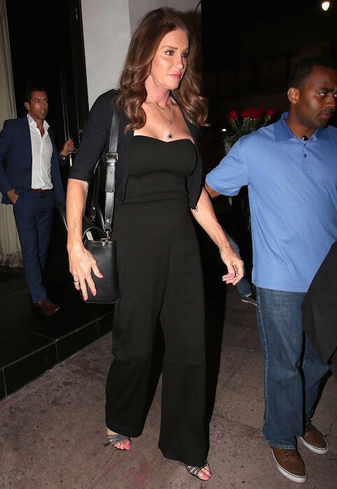 Caitlyn Jenner going for dinner at Beso Restaurant in Hollywood, California on July 29, 2015