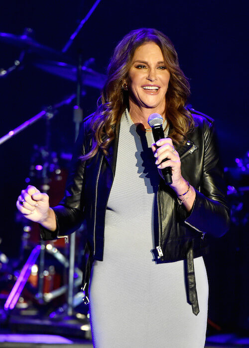 Caitlyn Jenner performing at The Greek Theater on July 24, 2015 in Los Angeles