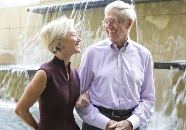 Charles and Elizabeth Koch