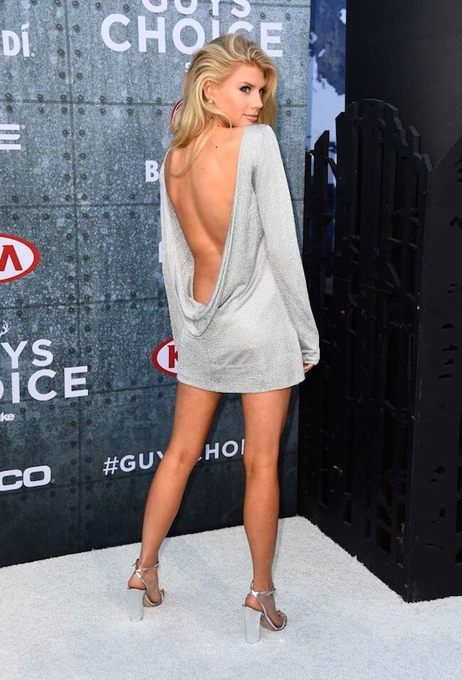 Charlotte McKinney attends Spike TV's Guys Choice Awards 2015 at Sony Pictures Studios on June 6, 2015 in Culver City, California