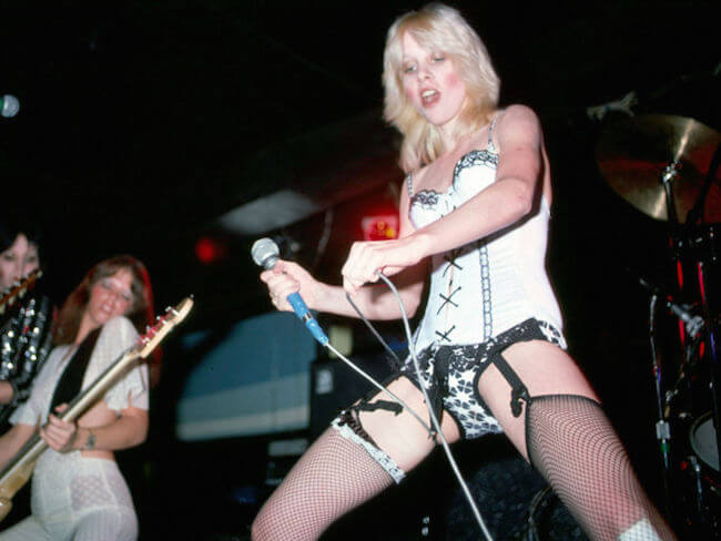 Cherie Currie and Scott Anderson