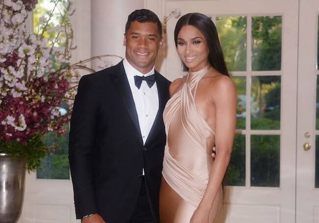 Ciara with boyfriend Russell Wilson