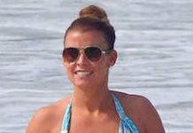 Coleen Rooney in Bikini