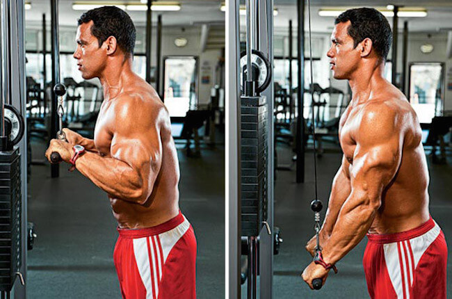 Don't turn pulldowns into multi-joint movement