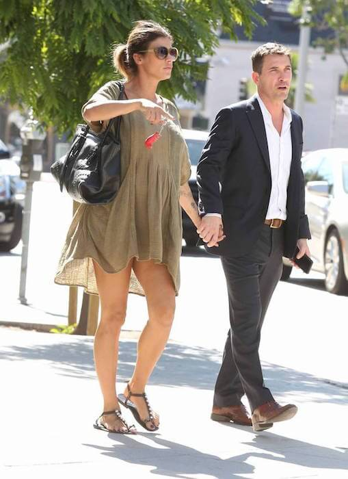 Elisabetta Canalis with hubby Brian Perri