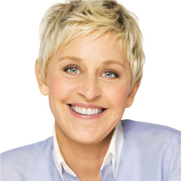 Ellen DeGeneres, the American Comedian, TV host and Writer