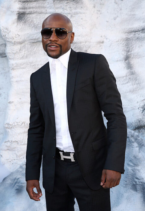 Boxer Floyd Mayweather, Jr. arrives at the Spike TV's Guys Choice Awards 2015 on June 6, 2015 in Culver City, California