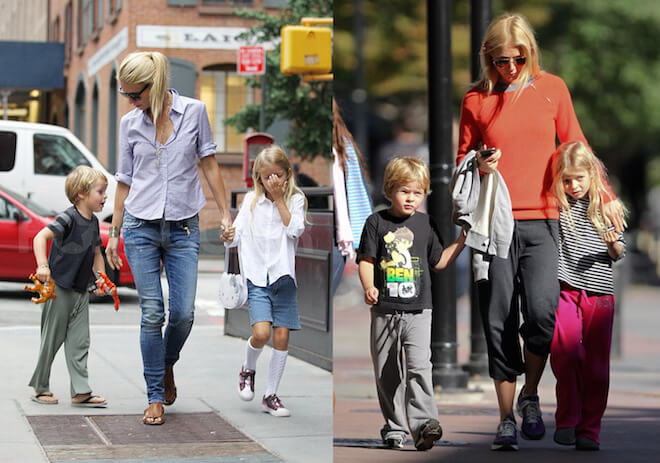 Gwyneth Paltrow with her kids