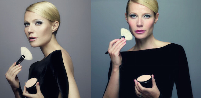 Gwyneth Paltrow during Max factor photoshoot