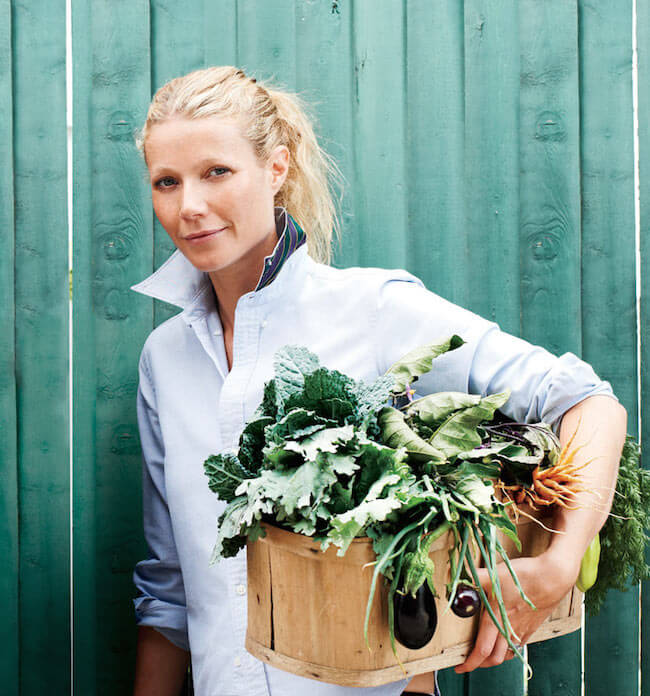 Gwyneth Paltrow food