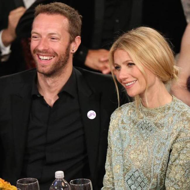 Gwyneth Paltrow with Chris Martin