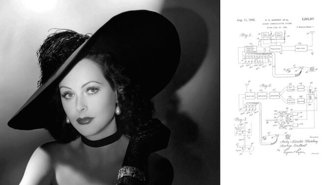 Hedy Lamarr the Wi Fi innovator