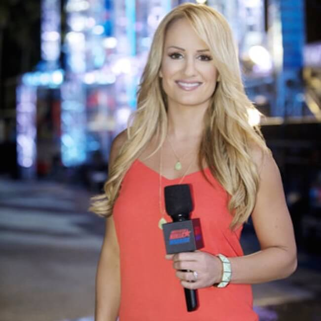Jenn Brown hosts the American Ninja Warrior