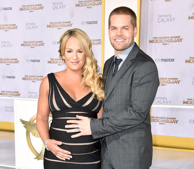 Jenn Brown and her husband Wes Chatham.