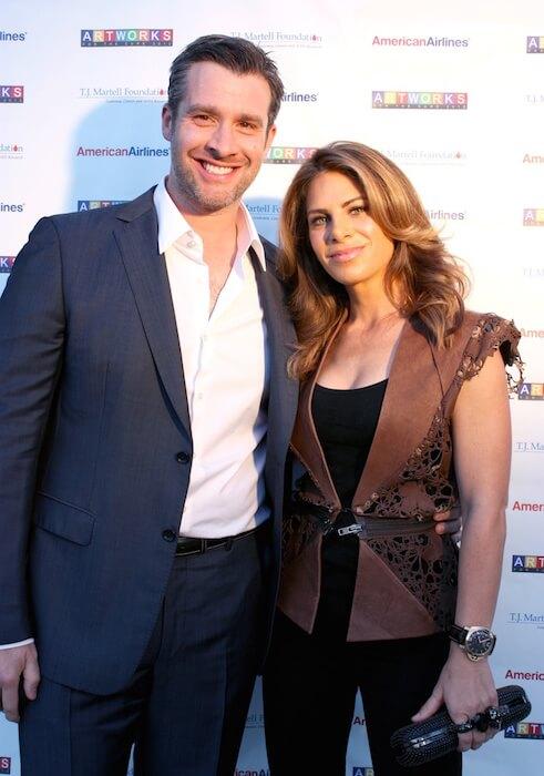 Jillian Michaels with her business partner