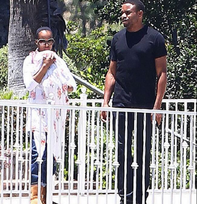 Kerry Washington with daughter