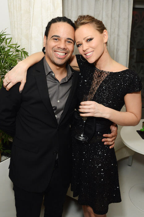 Kimberley Walsh and Justin Scott are engaged. He proposed her in the hospital at the time of Bobby's birth
