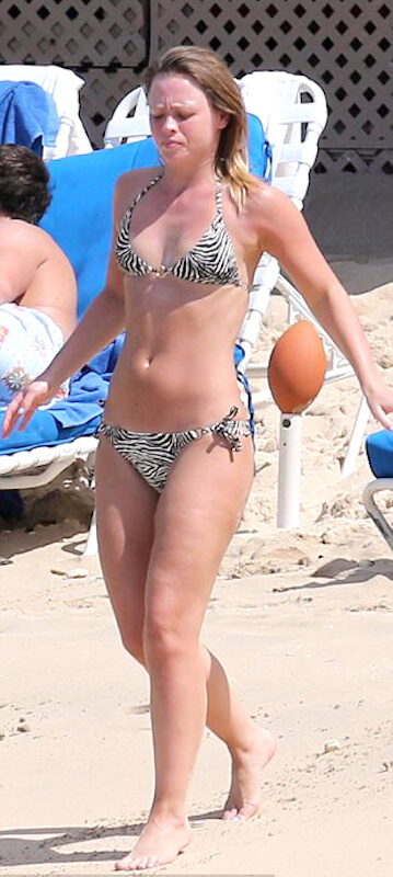 Kimberley Walsh post pregnancy body