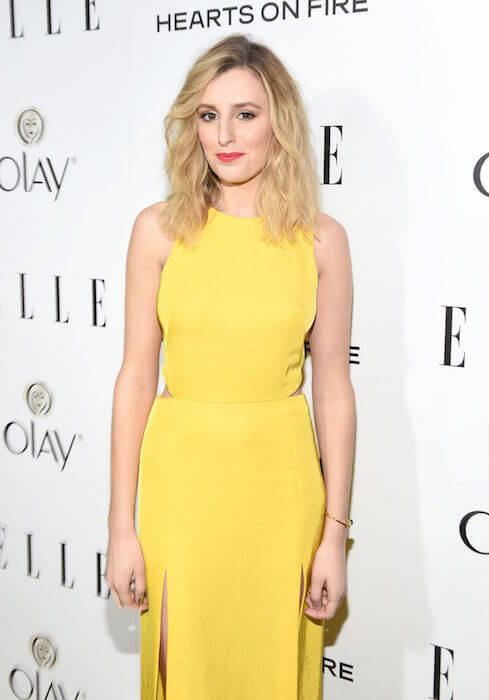 Laura Carmichael during Elle's 2015 Women in Television Celebration in West Hollywood