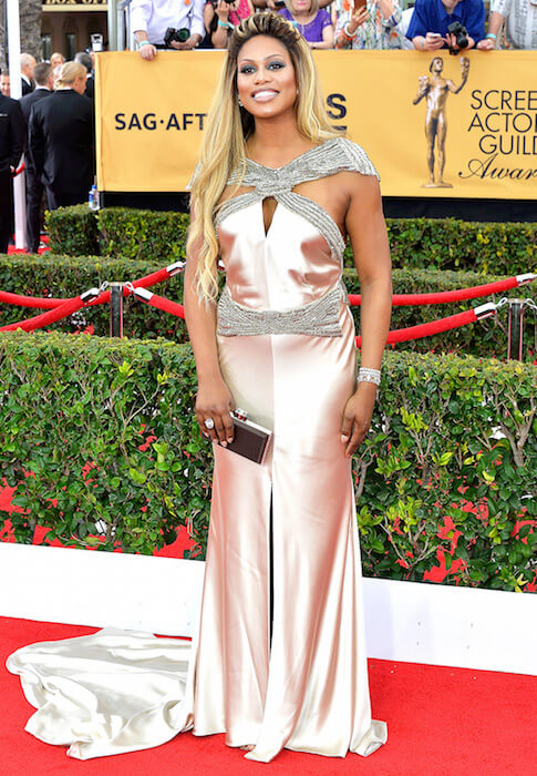 Laverne Cox at SAG Awards 2015