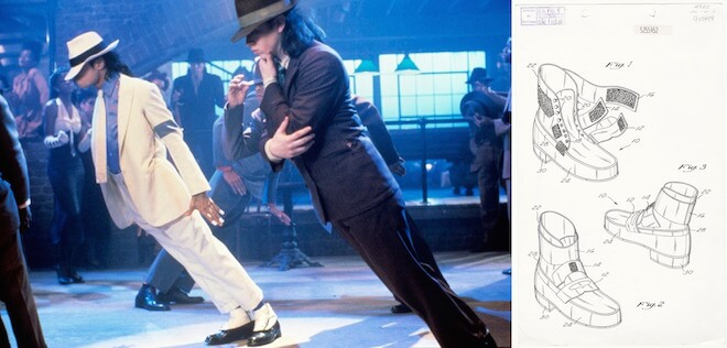 Michael Jackson's Gravity Defying Shoes