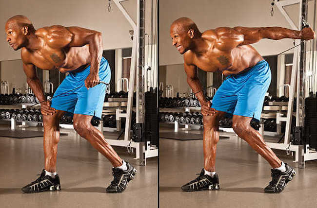 Never do triceps before shoulders or chest