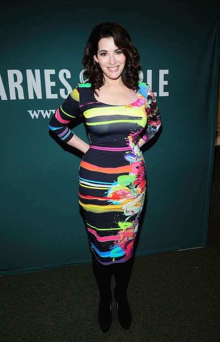 Nigella Lawson at Barnes and Noble book launch on February 13, 2013 at New York