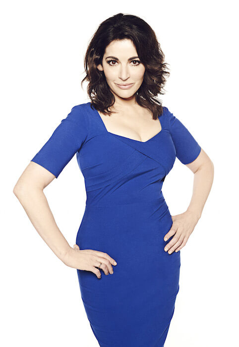 "Nigella in an ad for the reality cooking show ""The Taste"" on December 2013"