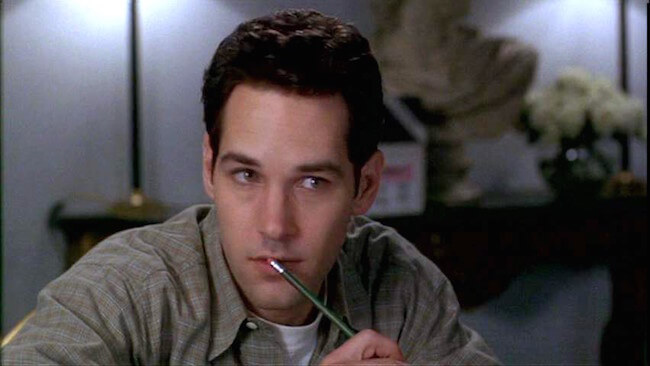 Paul Rudd in Clueless...Isn't he adorable?