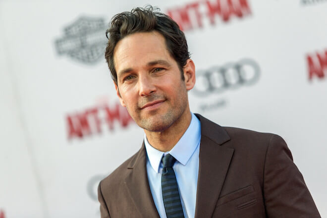 Paul Rudd while promoting Ant-Man