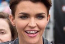 Ruby Rose Makes an appearance at Extra