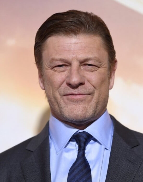 Actor Sean Bean attends the 'Jupiter Ascending' premieres at the TCL Chinese Theatre in Hollywood in February 2015