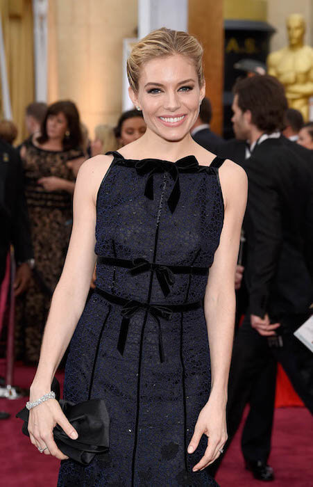 Sienna Miller at the 87th Annual Academy Awards in 2015