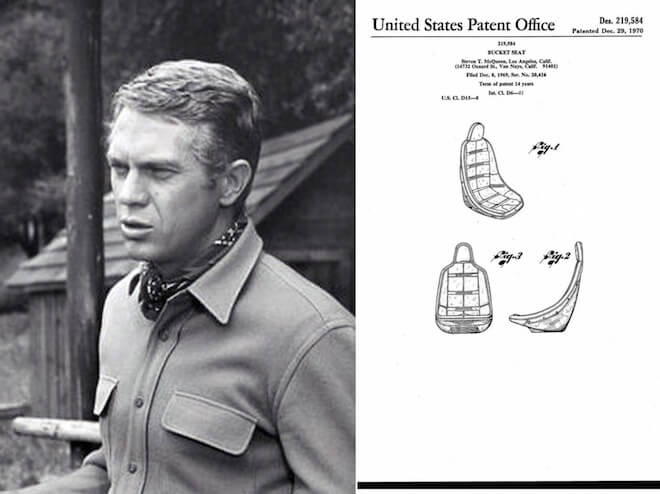 Steve McQueen and the Bucket Seat