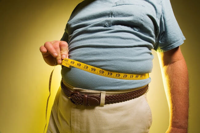 Stress promotes fat accumulation around the waist